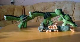 Вязаные игрушки драконы