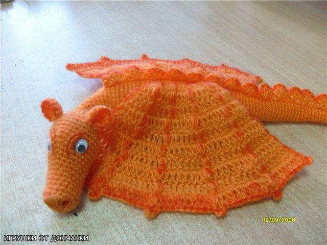 """игрушка Дракоша """"Апельсин"""""""