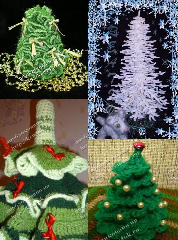 Схема вязания елки очень простая, даже для тех, кто познакомился с крючком совсем недавно.Экспресс Схема Как Связать...