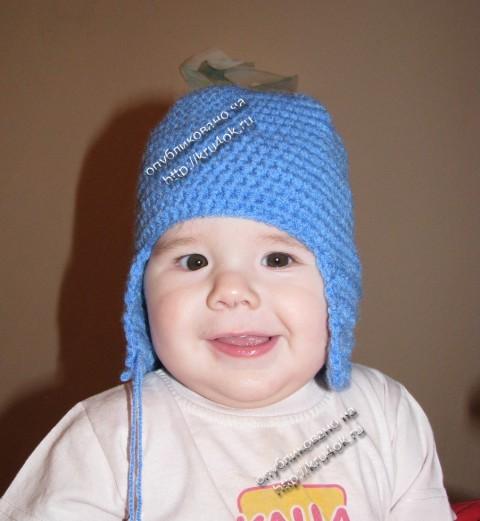 детская меховая шапка шлем выкройка.