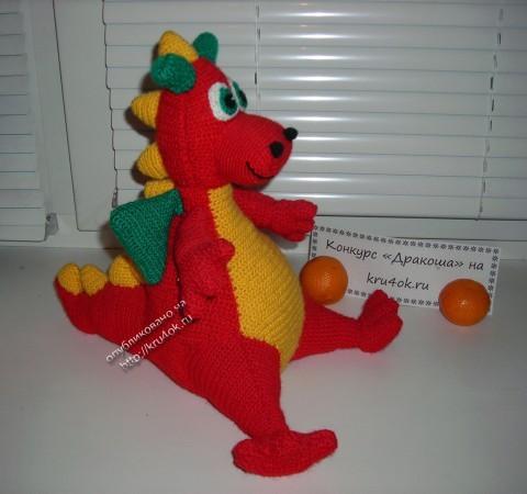 Вязаный дракон