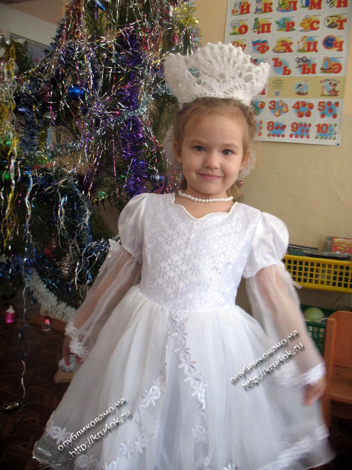 костюм снежинки схема короны из бумаги