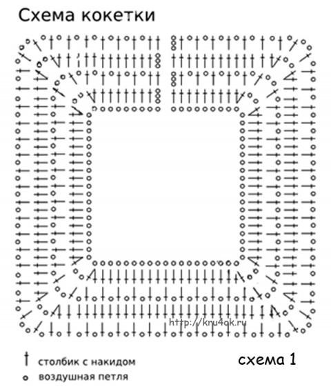 Выкройки вязаных гетр