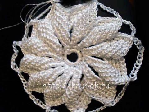 свитер и сумка, связанные крючком