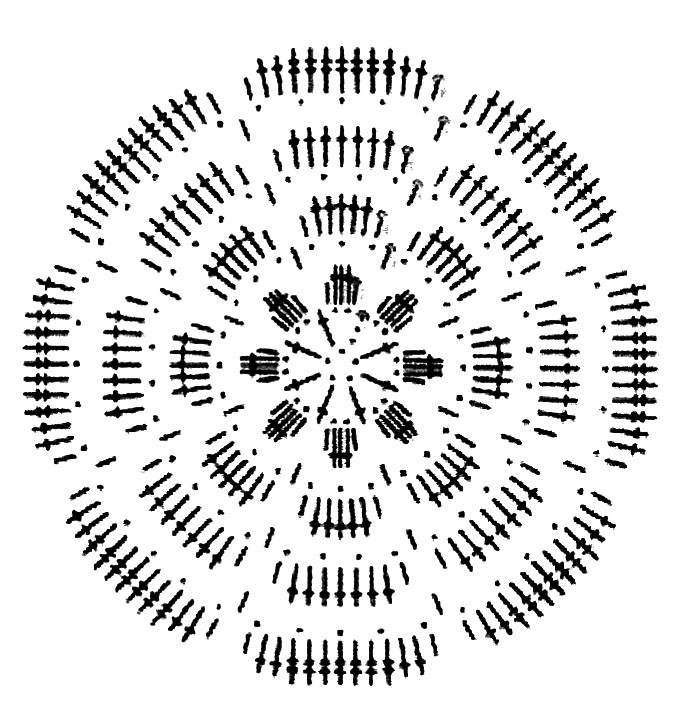 Вязаные крючком бусы