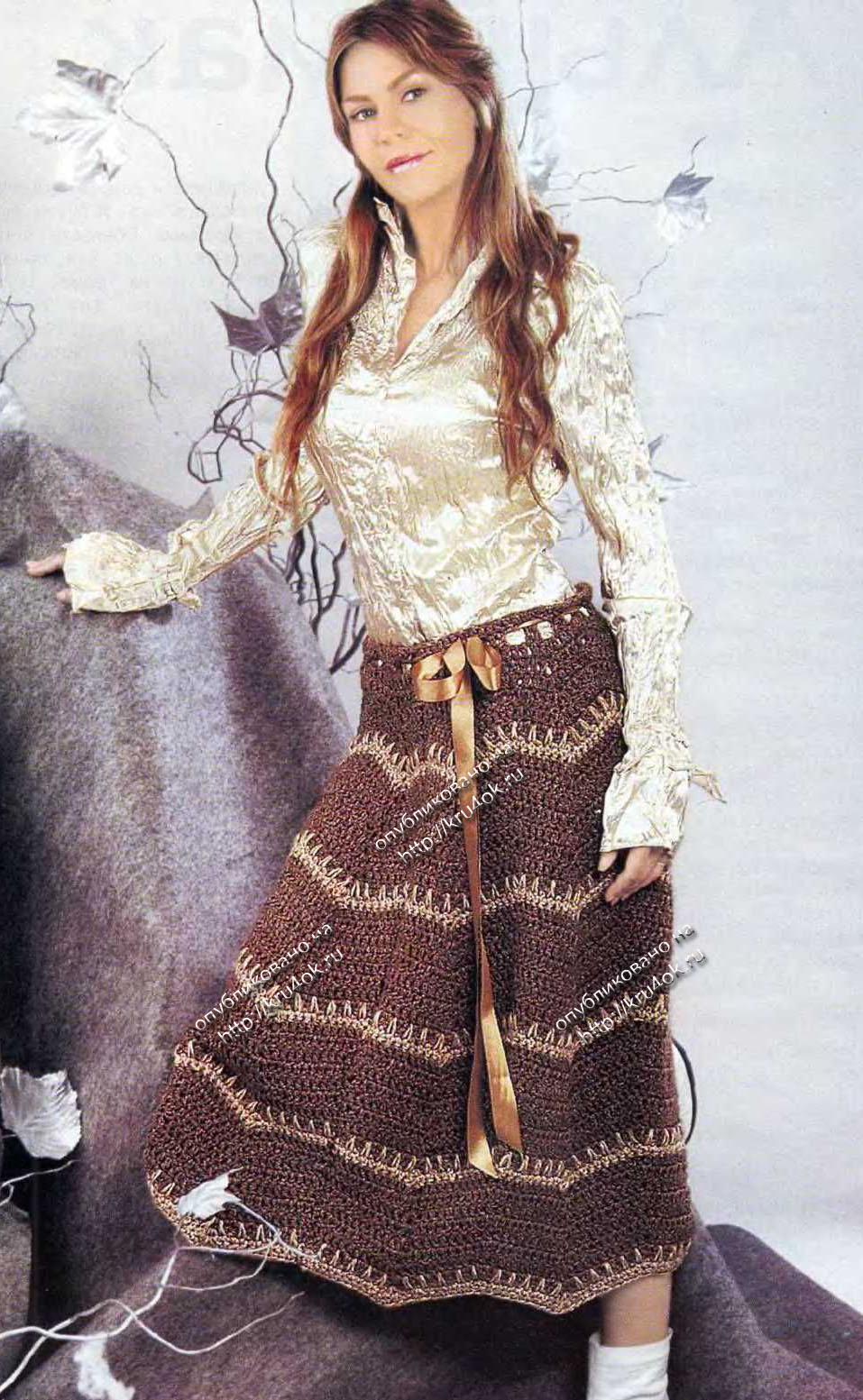 Вязание свитеров с косами