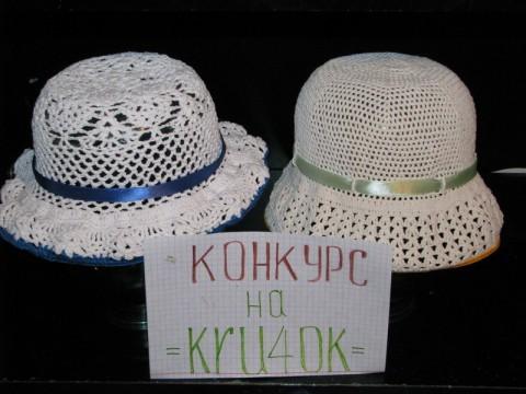 шляпка для девочки, связанная крючком