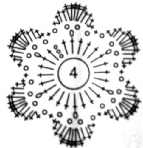 Панамка, связанная крючком