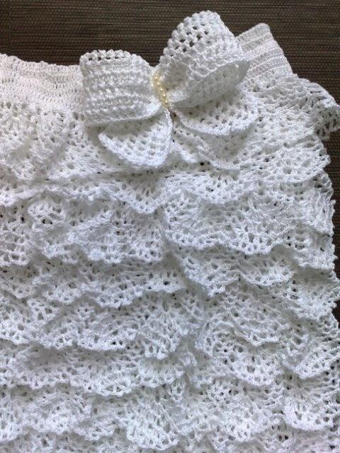 Летнее платье с оборками