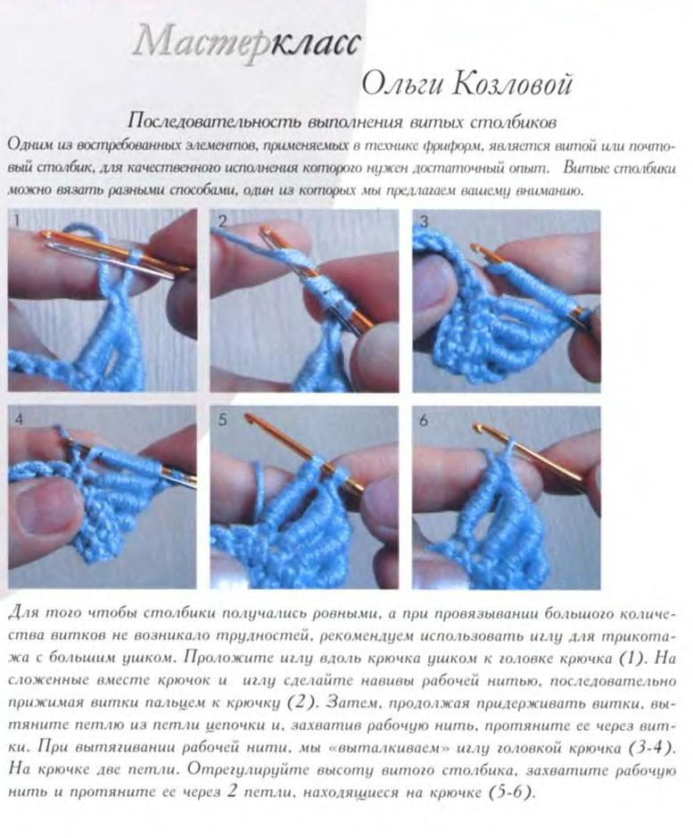 Вязание в технике фри форм