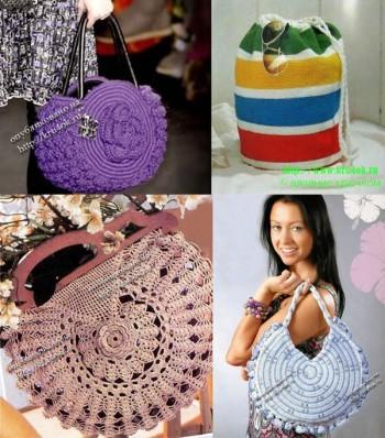 Круглые сумочки - мешочки