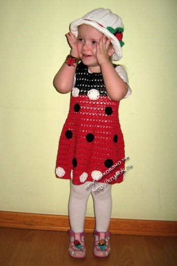 детский костюм крючком