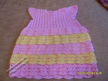 Детское платье - работа Натальи