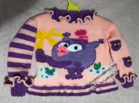 фото вязаного детского комплекта