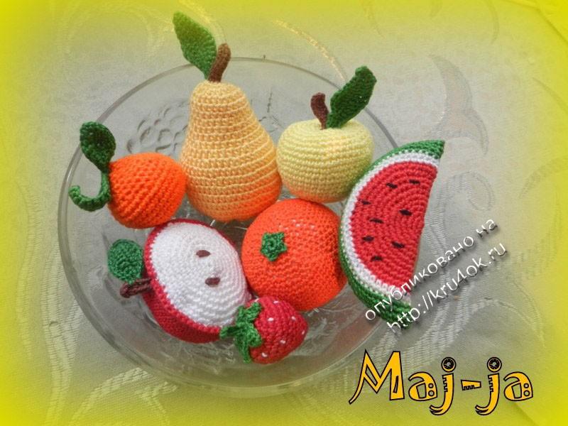 Некоторые фрукты-ягоды сделаны