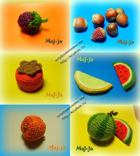 Схемы Вязания Овощей И Фруктов