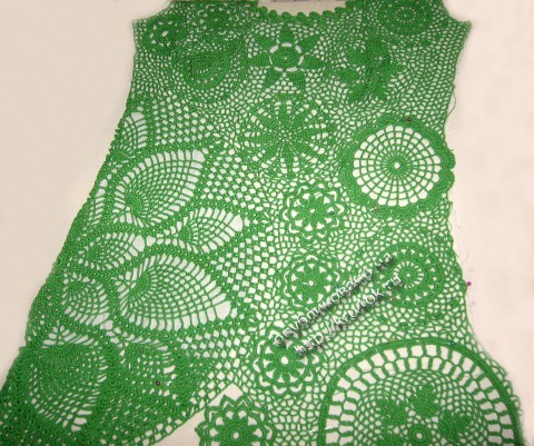 фото платья в технике ирландкого кружева