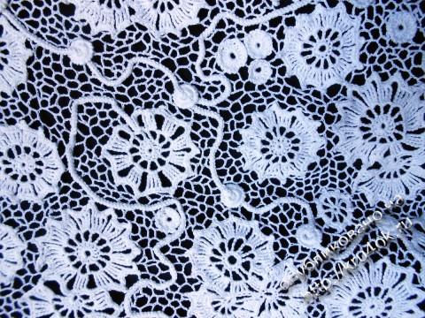 Схема вязания хризантем: