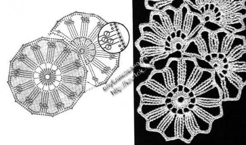 схема вязания маечки