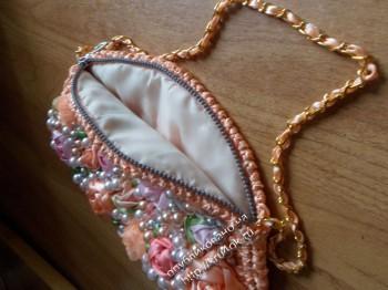 фото вязаной сумочки