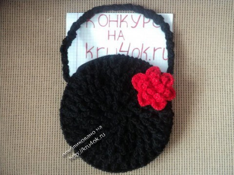 фото вязаной сумки крючком