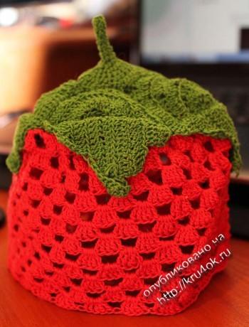 фото вязаной шапочки