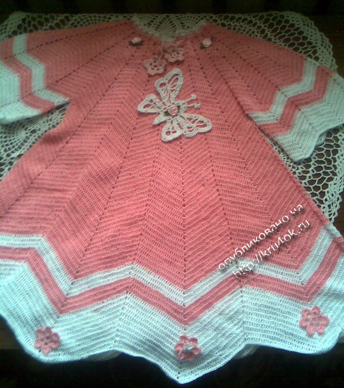 Детское платье крылья бабочки