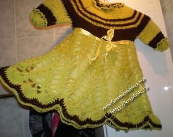 фото платья для девочки