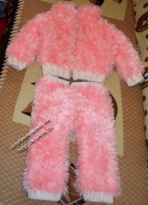 фото детского костюма спицами
