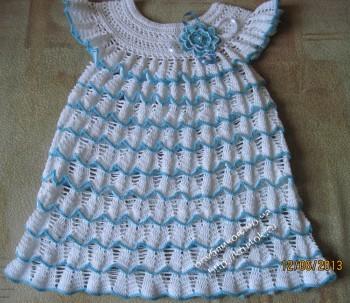 фото платья крючком