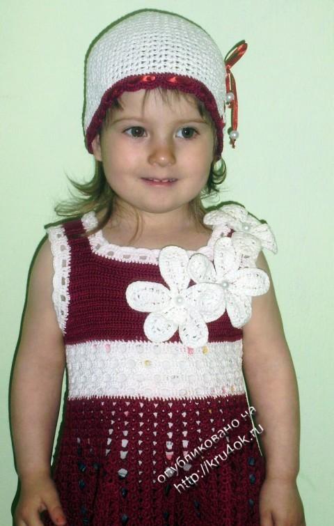 фото вязаного крючком костюма