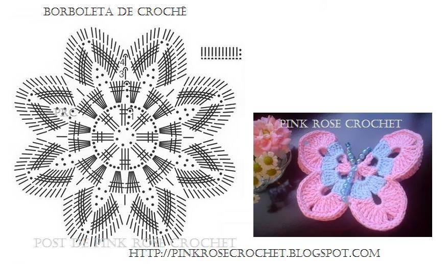 Схема вязания косынки: