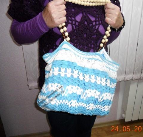 фото вязаной крючком сумки