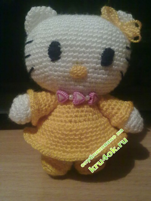 фото вязаной игрушки крючком