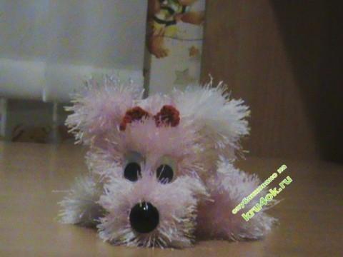 фото игрушки крючком