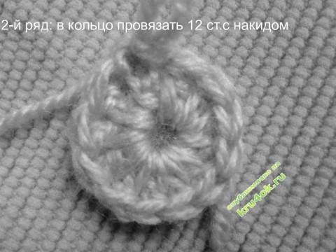 фото вязаного крючком берета
