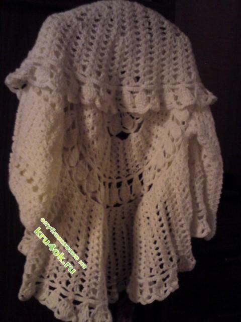 фото вязаного крючком жакета