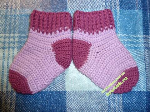 Вязаные носочки Натани