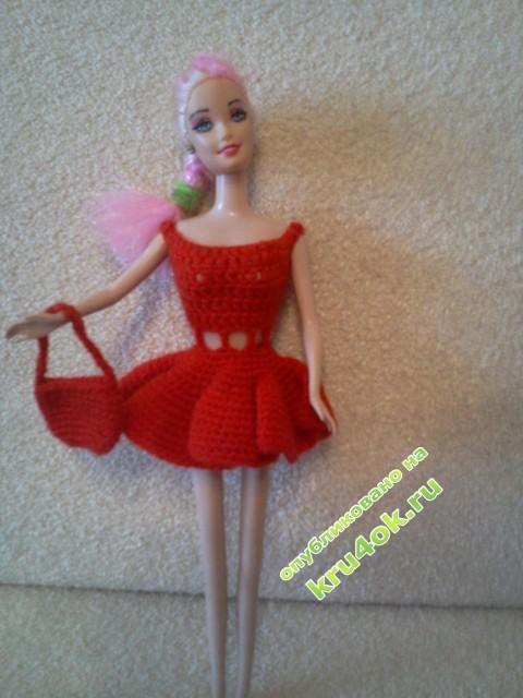 Вязание для кукол - работы Риты