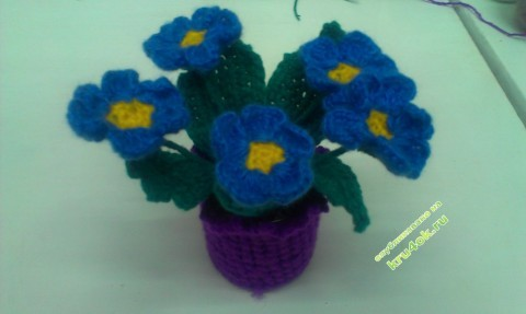 фот овязаных крючком цветов