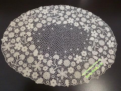 фото вязаной крючком салфетки