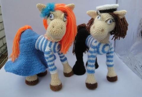 МК по вязанию лошадки