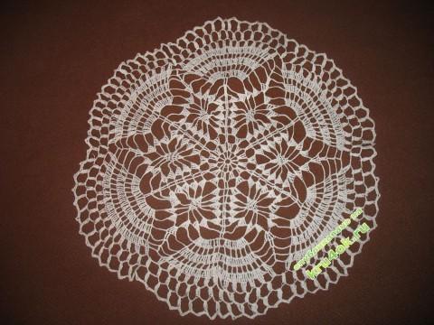 фото вязаной салфетки