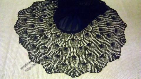Вязаная крючком юбка для девочки фото