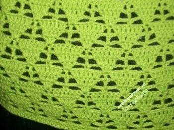 фото вязаного крючком джемпера