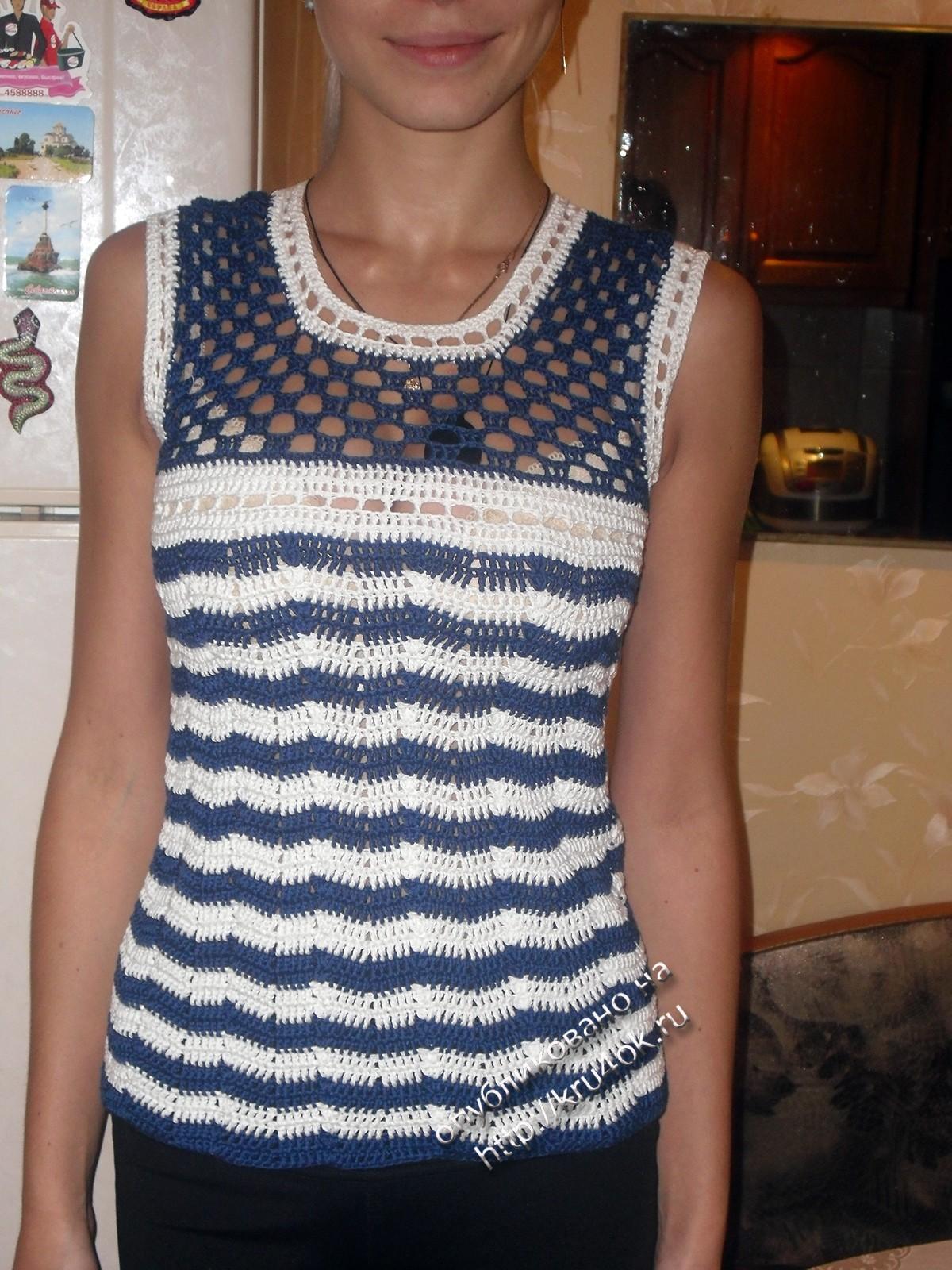 Фото вязания крючком летних кофточек для