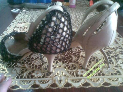 Туфли крючком фото