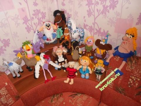 Вязаные игрушки крючком фото