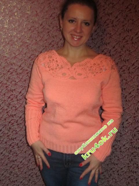 фото вязаного свитера