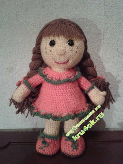 Вязаные игрушки - работы Юлии